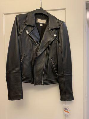 Brand new Michael Kors women's leather jacket for Sale in Nashville, TN