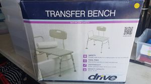 New transfer bench bathroom safety for Sale in Riverside, CA