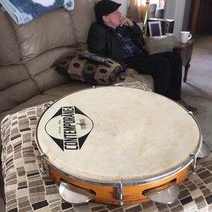 Contemporaneous 11 inch Pandeiro for Sale in Indianapolis, IN