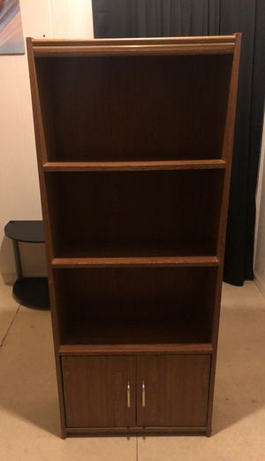 Book shelf (≈5ft Tall ) for Sale in Houston, TX