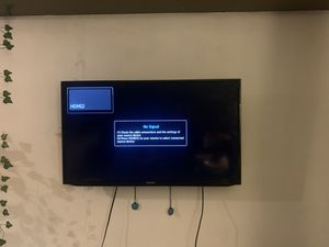 Samsung 40 inch 1080p smart TV AND 3rd Gen Apple TV for Sale in Seattle, WA