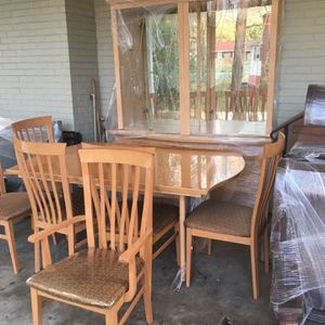 Italian China Cabinet, Dining Room Table and 6 Chairs for Sale in Lanham, MD