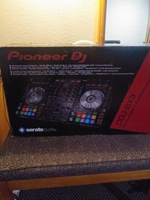 Pioneer DJ serato dj pro DDJ-SX3 for Sale in San Jose, CA