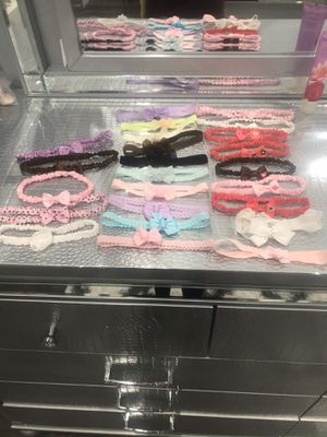 Baby hair bows from infant to toddler for Sale in Kennewick, WA