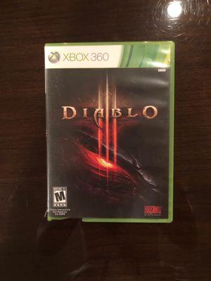 Diablo Xbox 360 game for Sale in Dallas, TX