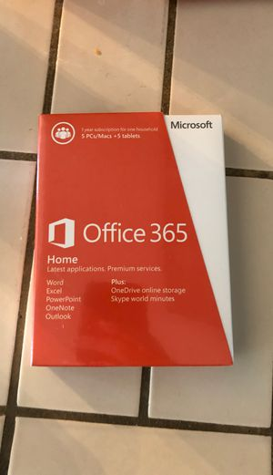 Microsoft office 365 for Sale in Redwood City, CA