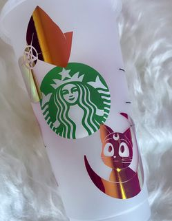 Sailor Moon Starbucks Cold Cup (Venti) for Sale in Leona Valley,  CA