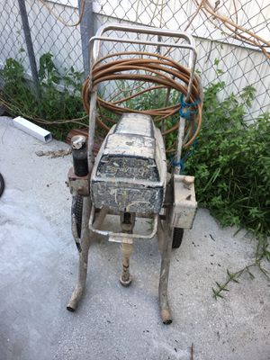 Airless Paint Sprayer- Commercial [SprayTech Ep2400] WAS $2500 || WORKS GOOD // 490 FIRM (NO OFFERS) for Sale in Miami, FL