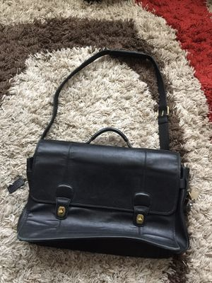 Coach Vintage Leather Messenger Bag for Sale in Pittsboro, NC