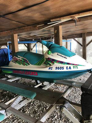 1995 Bombardier wave runner for Sale in Louisburg, NC