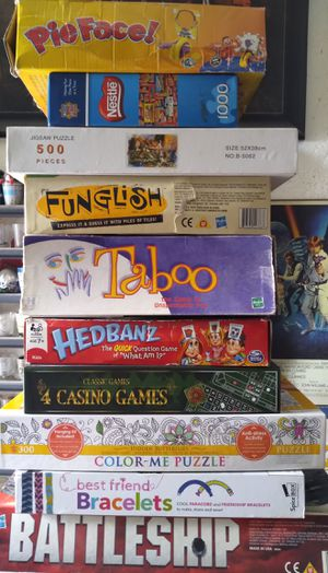 Puzzles and Games for Sale in San Bernardino, CA