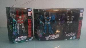 Transformers earthrise starcream,Thundercracker and Skywarp for Sale in San Fernando, CA