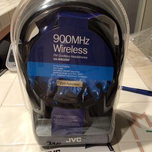JVC FM Cordless Headphones for Sale in Visalia, CA
