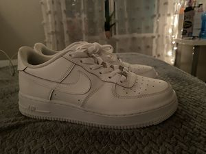 Air Force 1s 7y for Sale in Woodburn, OR