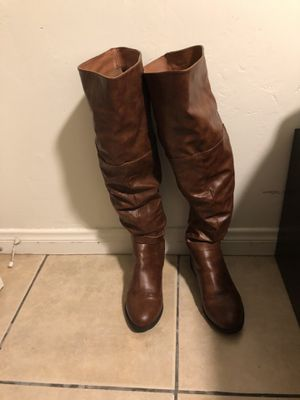 Charlotte Russe Long Boots 👢 like new for Sale in San Diego, CA