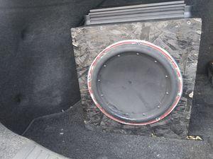 Alpine monoblock amplifier & rockford subwoofer for Sale in Silver Spring, MD