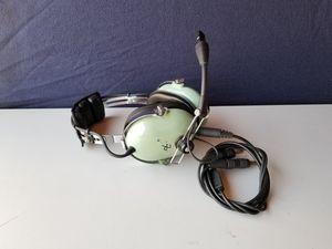 David Clark H10-60 Aviation Pilot Headset Single Plug Brand for Sale in Pomona, CA