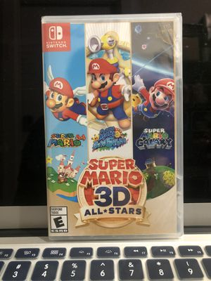 Super Mario 3D All Stars NINTENDO SWITCH NEW SEALED for Sale in Hyattsville, MD