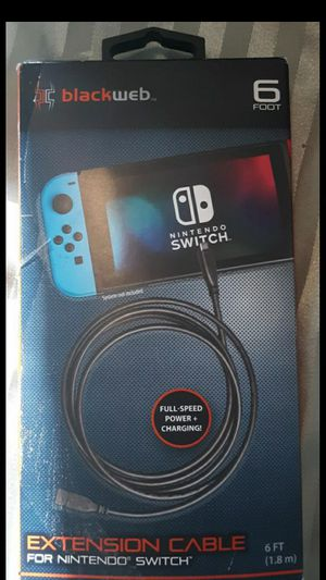 Extension Cable for Nintendo Switch - New for Sale in Clinton, MD