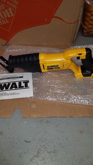 NEW Dewalt 20v MAX reciprocating saw sawz all for Sale in Ashburn, VA