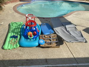 Pool supplies bundle all must go! for Sale in Bakersfield, CA