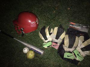 Baseball -nike gk confidence gloves (2 pair ) . - baseball &softball. -slugger Bat for Sale in Florissant, MO