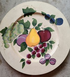 Home Interior Fruit Hanging Plate Wall Decor for Sale in Houston, TX