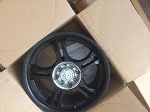 "Black rims must sell ASAP {contact info removed} 16"" for Sale in Riverside, CA"