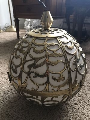 Lamp brass for Sale in Skokie, IL