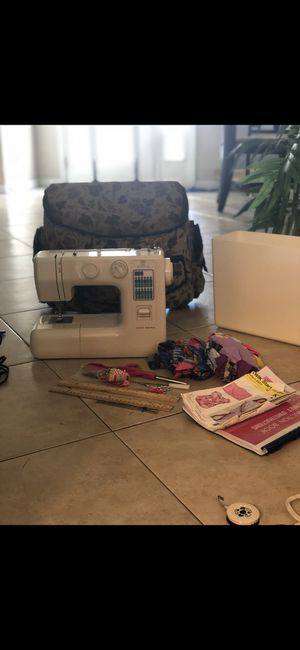 Sewing machine full set! Willing to bargain for Sale in Tampa, FL