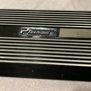 Car Amplifier Performance Tecknic 2/Channels Working for Sale in Chula Vista, CA