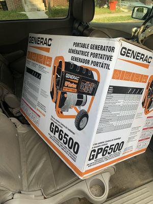Generac Generator 6500 watts Beand new for Sale in Moorestown, NJ
