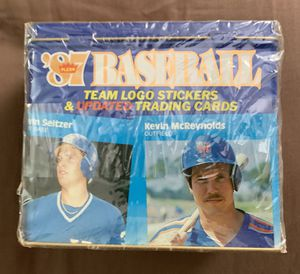 1987 Fleer Sealed Baseball Update Set McGwire & Maddox Rookie Cards for Sale in Brea, CA