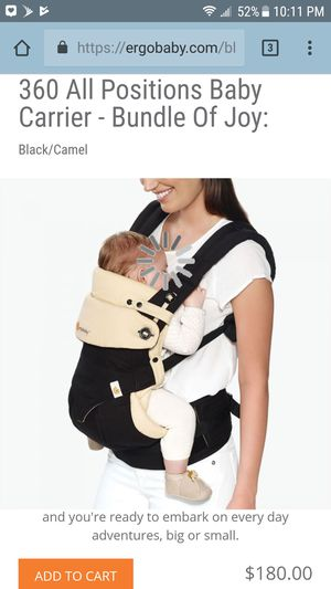 Ergobaby 360 baby carrier for Sale in Los Angeles, CA