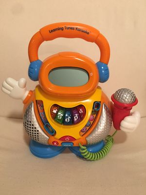 VTECH Learning Tunes Karaoke Music Microphone Numbers Alphabet Letters Songs for Sale in Orlando, FL