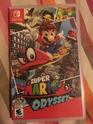 Super Mario odyssey!! Brand new !!! Never used ! for Sale in Murrieta, CA