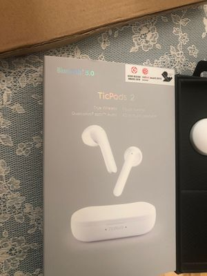 Brand New Mobvoi Ticpods 2 wireless headphones for Sale in Turlock, CA