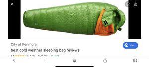 Mountain hardware phantom flame 850 fill down sleeping bag for Sale in Tempe, AZ