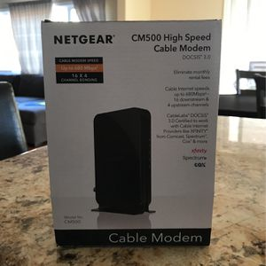 Netgear CM500 High Speed Cable Modem for Sale in Santa Ana, CA