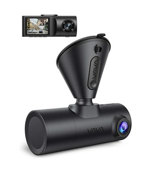 VAVA Dual Dash Cam, VAVA 2K Front and 1080P Cabin or 2.5K 30fps Single Front Car Camera, Both Sony Sensor, Infrared Night Vision, App Control for Sale in South Milwaukee, WI