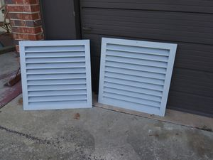 2 Wall vents metal 24x24 for Sale in Orlando, FL