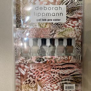 Deborah Lippmann Gel Lab Pro Color With Contour Brush Wild Safari Set 6pc for Sale in Kent, WA