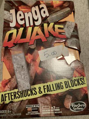 Jenga quake for Sale in Mechanicsville, VA