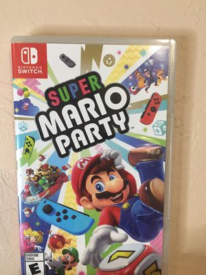 Super Mario Party game for Nintendo Switch for Sale in Fresno, CA