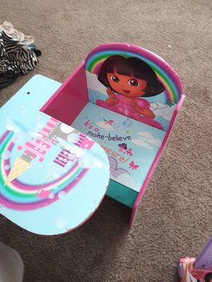 Kids dora desk for Sale in Jurupa Valley, CA