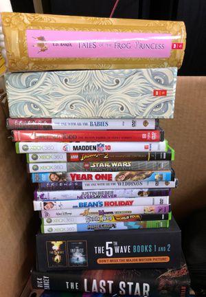 DVDs teen books children books Xbox video games for Sale in Walnut, CA