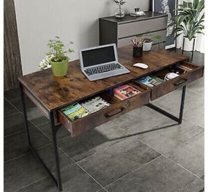 office desk47 inch x 23.6 x 29.5 all inches with 2 Drawers for Sale in El Monte, CA