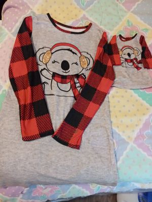 My Life Matching Girl & Doll Pajamas w/doll for Sale in Garner, NC