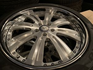 Mercedes Benz S550 S500 20 inch FORGED WHEELS TIRES RIMS for Sale in Indian Creek, FL