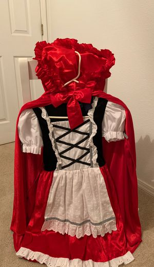 Girls Red Riding Hood Costume for Sale in Sanger, CA
